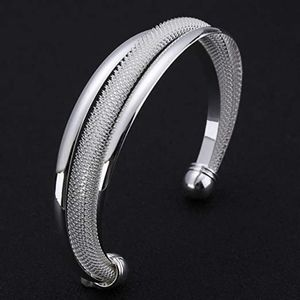 Jewelry - 925 Sterling Silver Bangle Bracelet, Fashion Women
